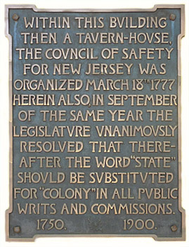 Indian King Tavern Plaque